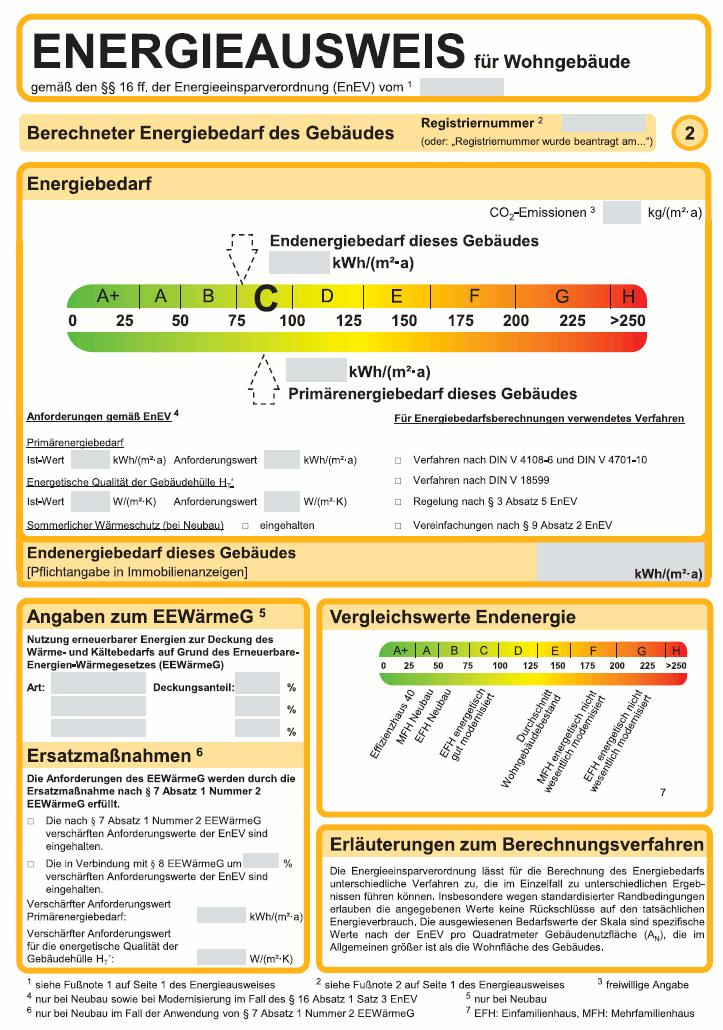 energieausweis energiepass das ist wichtig